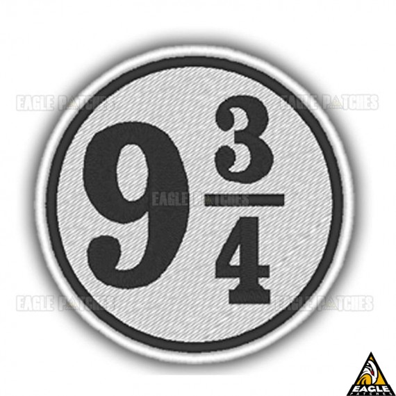 Patch Bordado Harry Potter Plataforma 9 ¾
