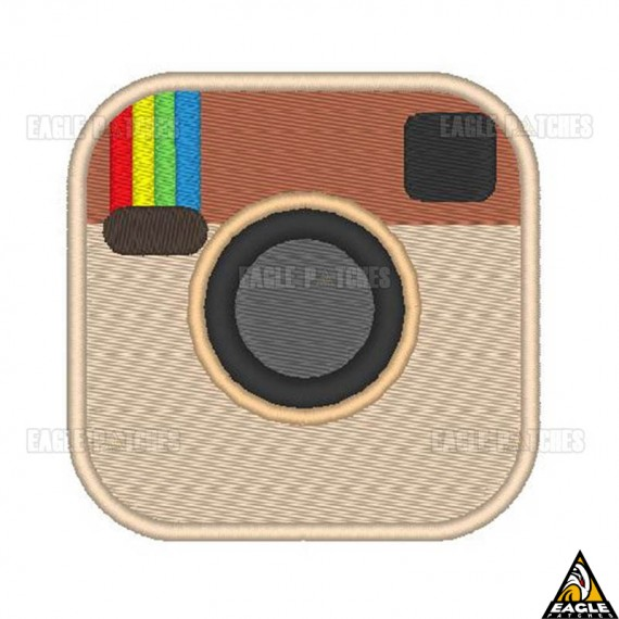 Patch Bordado Instagram