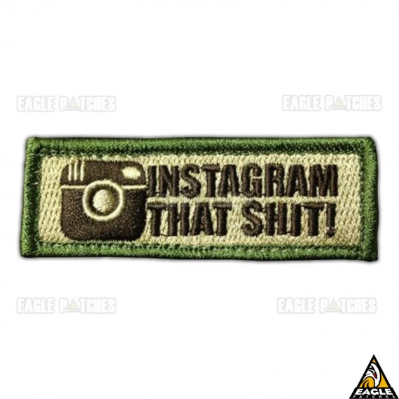 Patch Bordado Instagram That Shit!