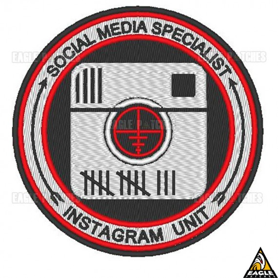 Patch Bordado Instagram Unit