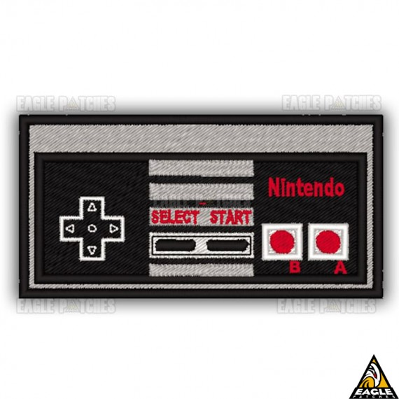 Patch Bordado Joystick Nintendo