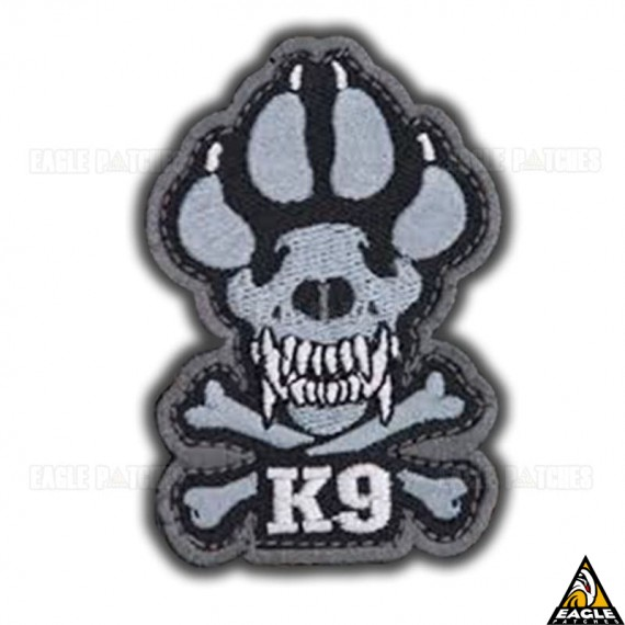 Patch Bordado K9 Footprint