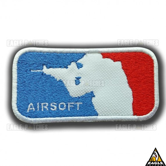 Patch Bordado Liga Airsoft