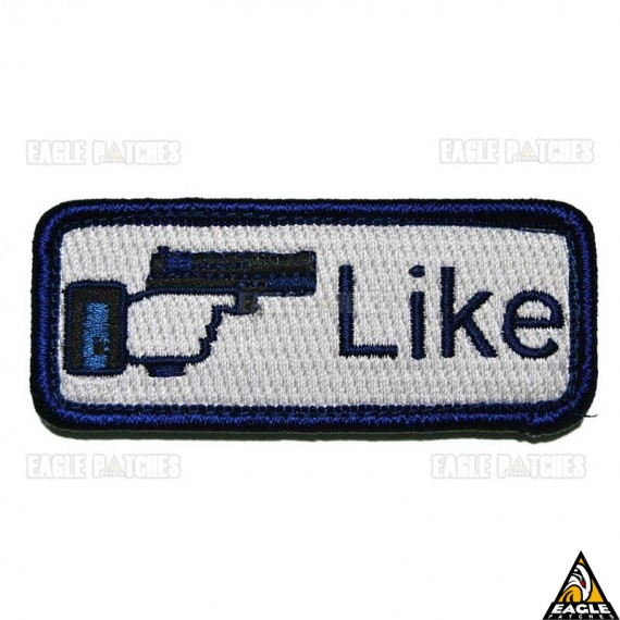 Patch Bordado Like Shoot