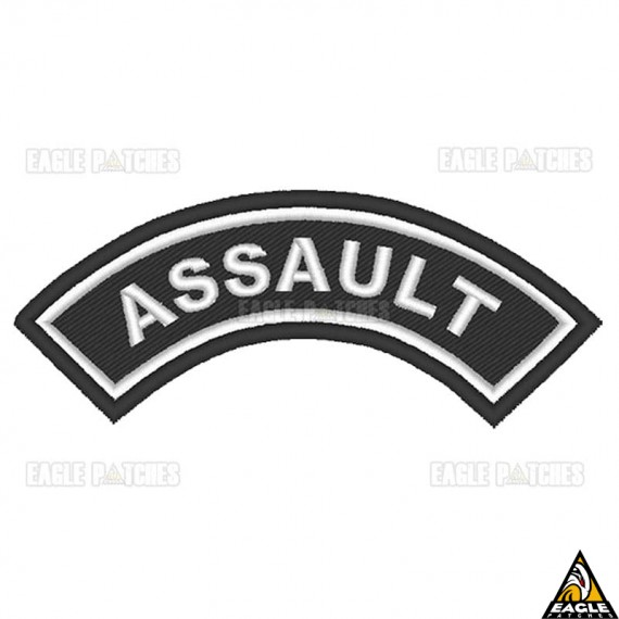 Patch Bordado (Manicaca) Assault