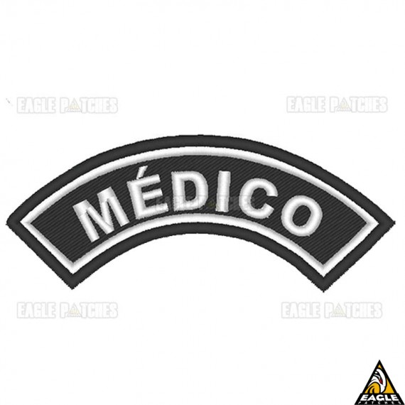 Patch Bordado (Manicaca) Médico
