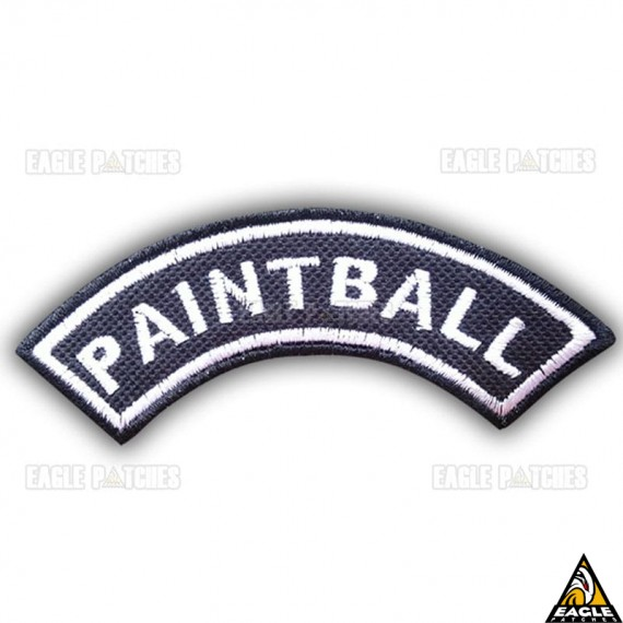 Patch Bordado (Manicaca) Paintball