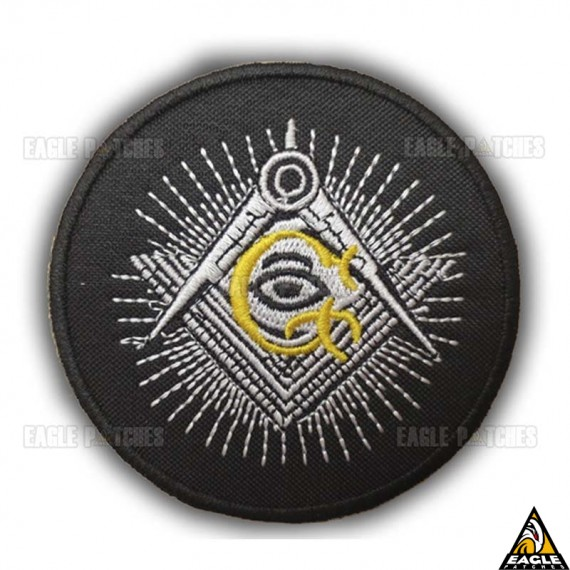 Patch Bordado Masonic