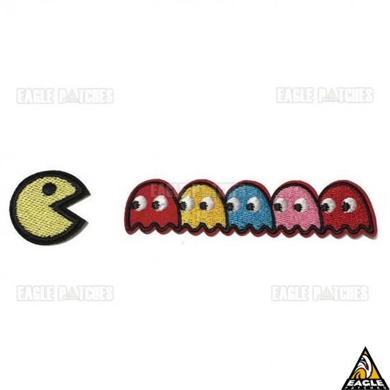 Patch Bordado Pac Man