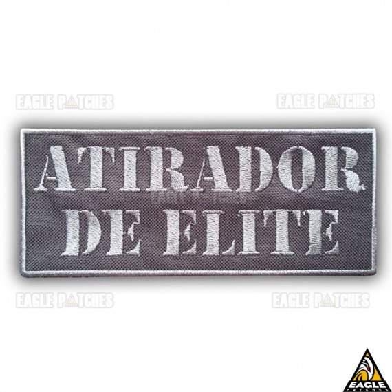 Patch Bordado Para Colete Atirador de elite