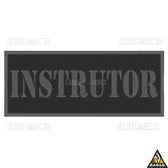 Patch Bordado Para Colete Instrutor