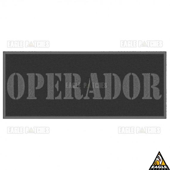 Patch Bordado Para Colete Operador