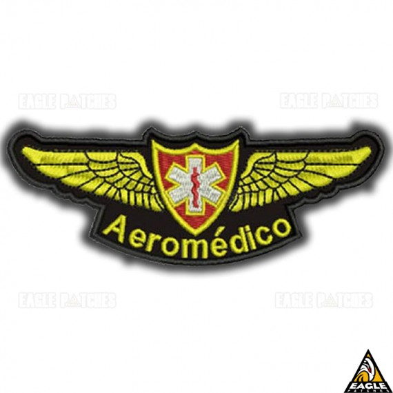 Patch Bordado Profissões - Aeromédico