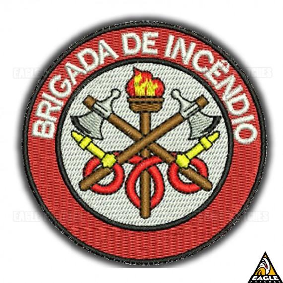 Patch Bordado Profissões - Brigada de Incêndio