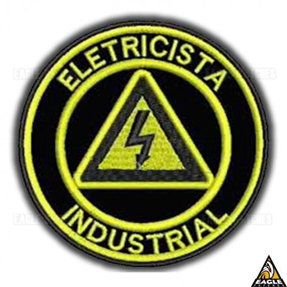 Patch Bordado Profissões - Eletricista Industrial