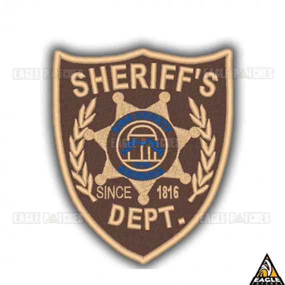 Patch Bordado Sheriff Rick Grimes The Walking Dead