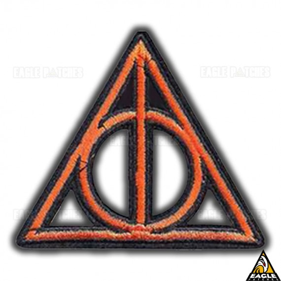 Patch Bordado Simbolo Horcrux - Harry Potter