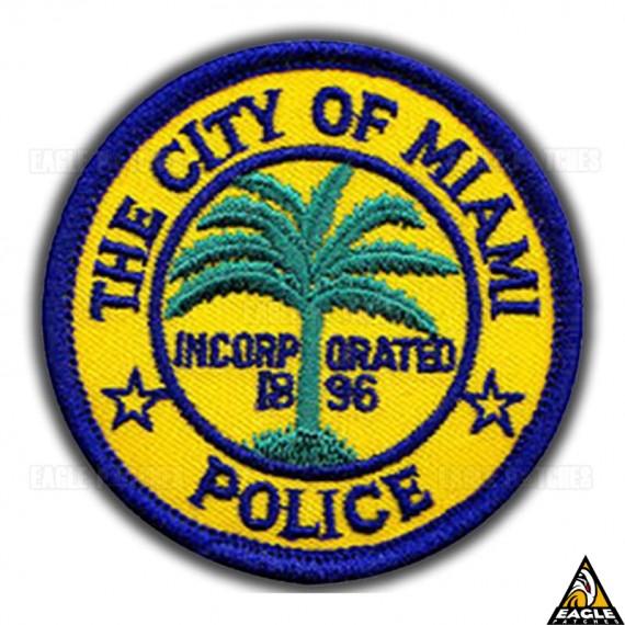 Patch Bordado The City of Miami - Police
