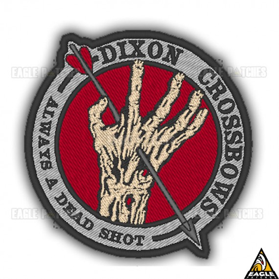 Patch Bordado The Walking Dead Dixon Crossbows