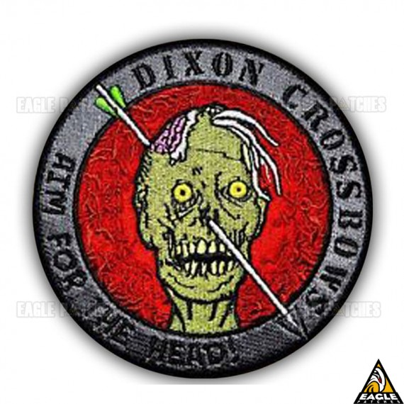 Patch Bordado The Walking Dead Dixon Crossbows Aim For The Head