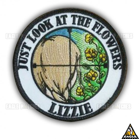 Patch Bordado The Walking Dead Just Look At The Flower Lizzie