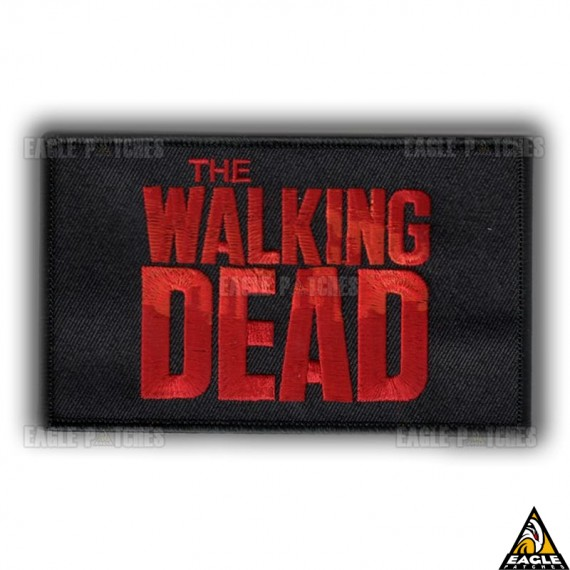 Patch Bordado The Walking Dead Tarja