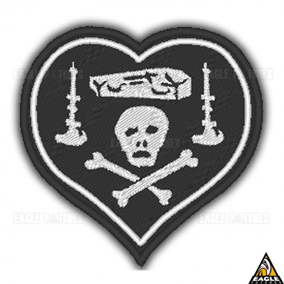 Patch Bordado WWI Black Heart Nungesser