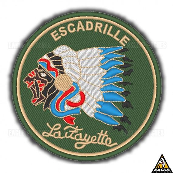 Patch Bordado WWI Esq Lafayette