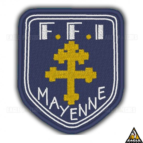 Patch Bordado WWI FFI Mayenne