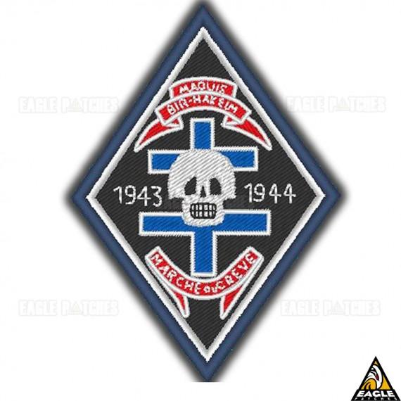 Patch Bordado WWI The insignia of the Maquis Bir-Hakeim