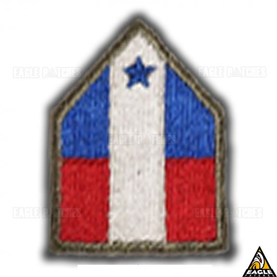 Patch Bordado WWII Northwest Service Command Alaska Alcan Highway