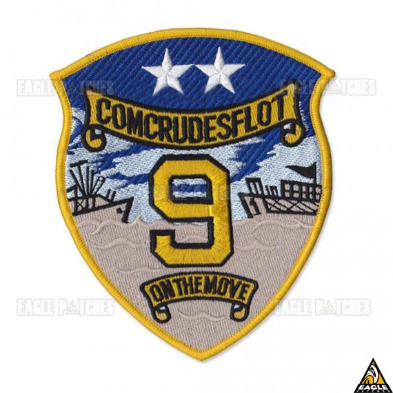 Patch Bordado Top Gun - Comcrudesflot 9