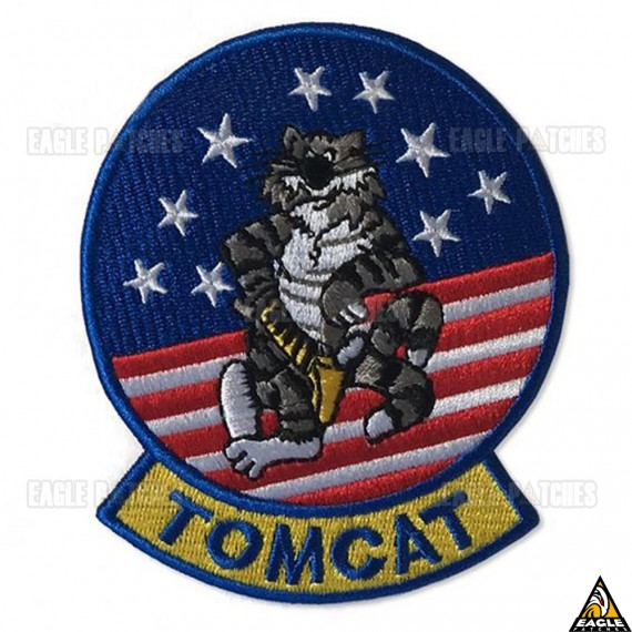 Patch Bordado Top Gun - Tomcat